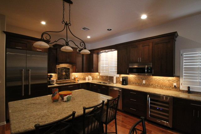 Remodeled Kitchens by Cook Remodeling - Transitional - Kitchen ...