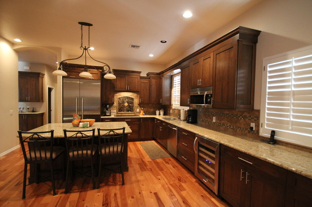 Remodeled kitchens by cook remodeling traditional for Kitchen remodel photos