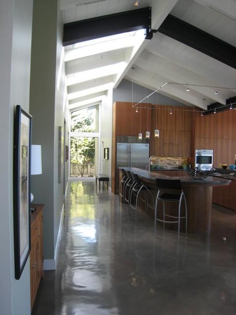 Remodeled Midcentury - Modern midcentury-kitchen