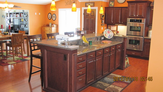 Remodeled Spaces traditional-kitchen