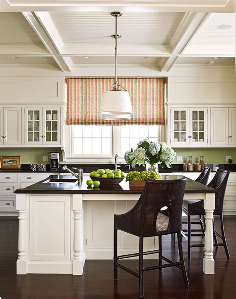 Remodeled Vacation Home featured in Traditional Home traditional kitchen