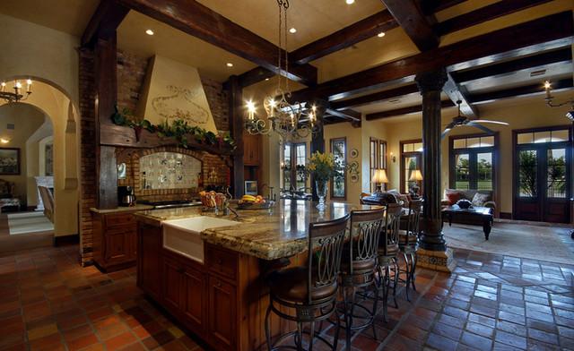 Renaissance homes spec house mediterranean kitchen for Renaissance home builders