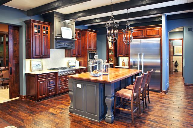 Renaissance Homes Street of Dreams - traditional - kitchen - omaha