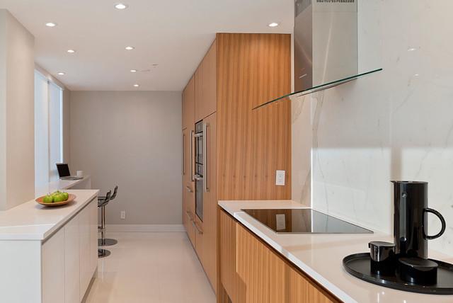 39 Renocon 39 Vancouver Condo Renovation Interior Design Contemporary Kitchen Vancouver By