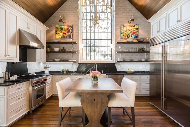 Renovated kitchen classique chic cuisine raleigh par catherine nguyen photography for Cuisine classique chic