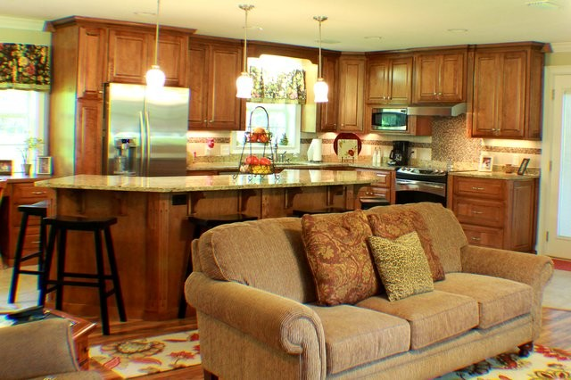 Renovated Ranch to Open Floor Plan traditional-kitchen