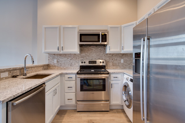 Renovated Townhouse traditional-kitchen