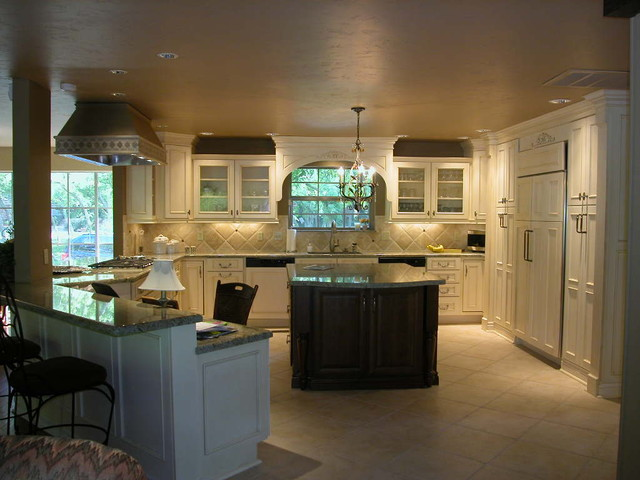 RenovateKate's Before & After Pictures traditional-kitchen