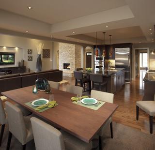 Renovation in Pump Hill by Pinnacle, Calgary, Alberta contemporary-kitchen