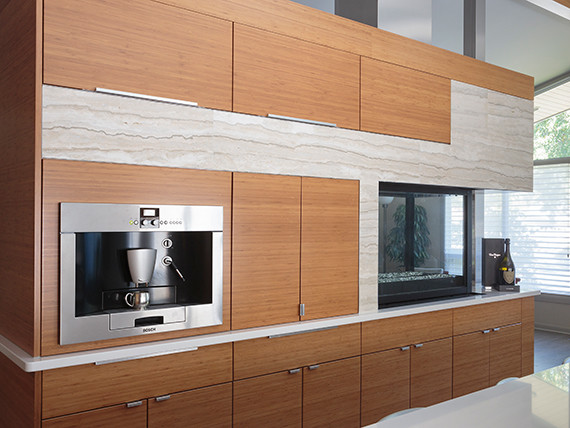 Renovation of a 1970-Built House contemporary-kitchen