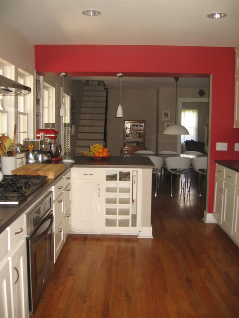 Renovation of a Cape Cod Style Cottage in Fayetteville AR traditional-kitchen