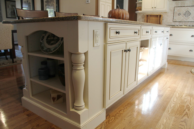 Renovation to Remodeling traditional-kitchen