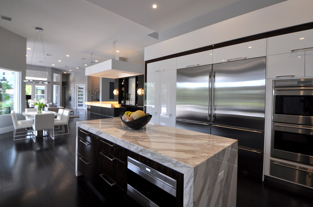 Renovation - West Delray Beach, FL - Modern - Kitchen - miami - by Vintage Building and Design