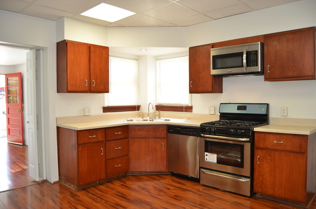 Rental Units traditional-kitchen