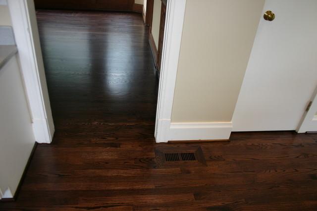Replacement Old Douglas Fir Floor With New Red Oak Floor