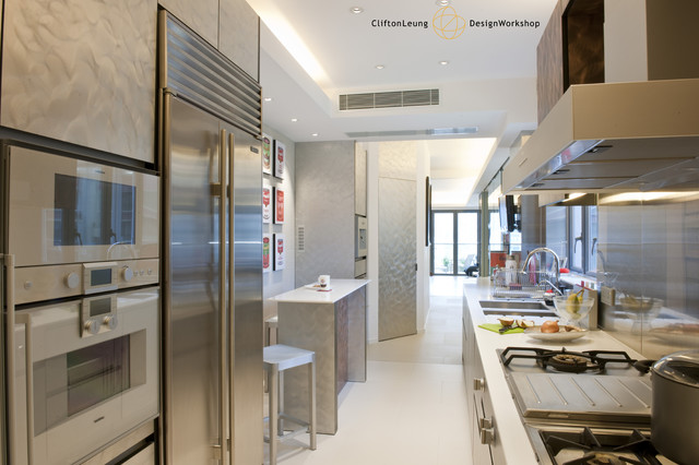 Repulsa bay garden the home gallery contemporary kitchen hong kong by clifton leung Kitchen design companies hong kong