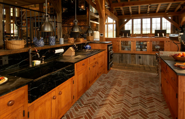 Repurposed Tobacco Barn Honeybrook Pa Rustic Kitchen Philadelphia By Lancaster County