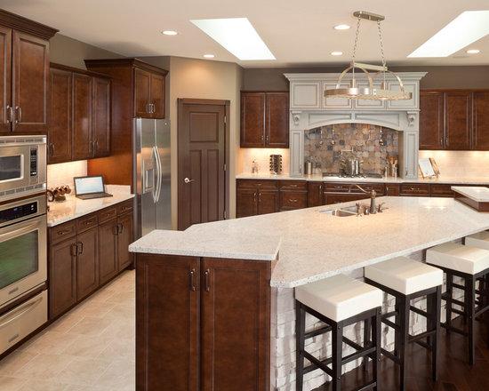 Aristokraft Sinclair Birch Cabinets Kitchen Design Ideas Remodels Photos