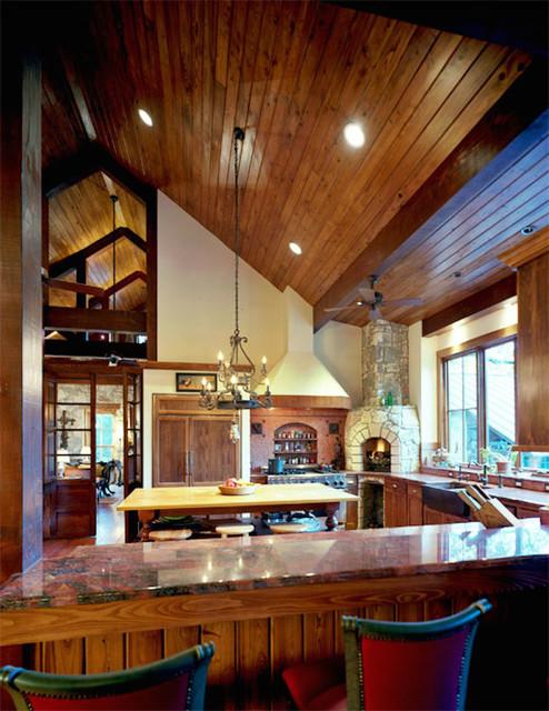 residence 3 rustic kitchen austin by katheryn lott architects