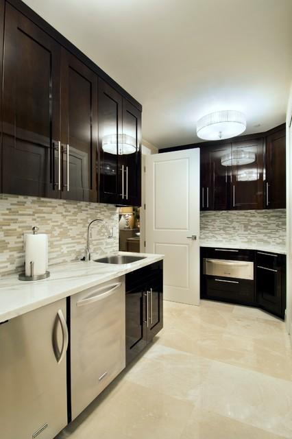 Residence at Ritz Carlton, Singer Island, FL contemporary-kitchen