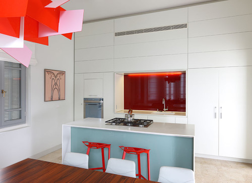 residence F modern kitchen