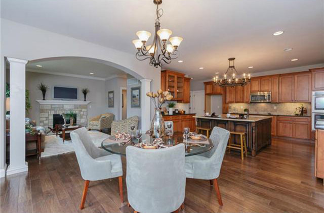 Residence in Fenton traditional-kitchen