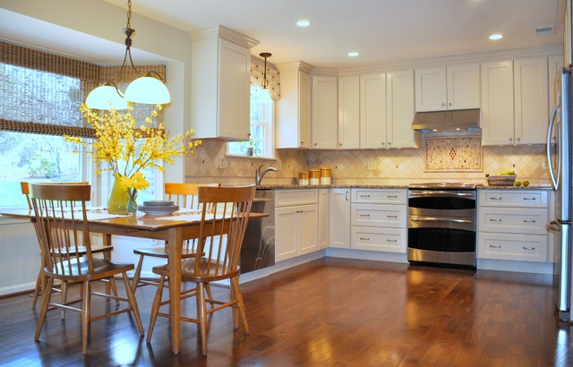 Residence in Rockville MD Traditional Kitchen dc metro by Lena Kroup