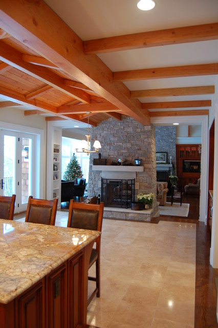 Residence on the Saint Joseph River traditional-kitchen