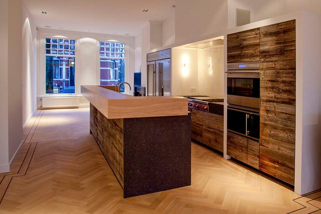 Residence Van Eeghen contemporary-kitchen