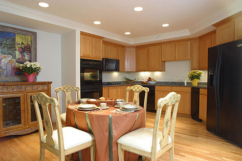 Residences At Chestnut Hill traditional-kitchen