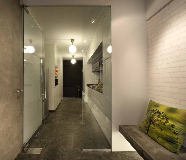 Industrial Residential Kitchen: Residential Apartment With An Industrial Loft Gallery