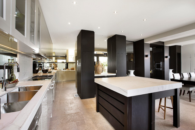 RESIDENTIAL CHURCH CONVERSION - Contemporary - Kitchen ...