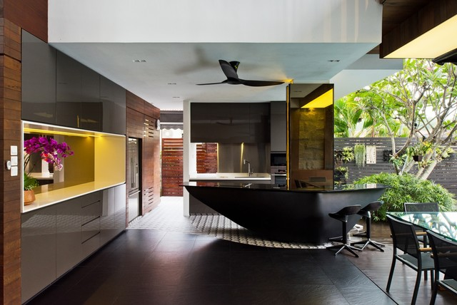 residential design best private house kitchen singapore by