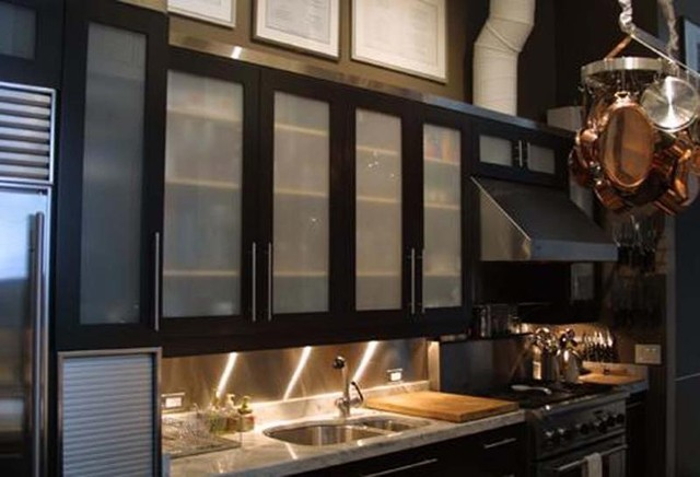 Residential contemporary-kitchen