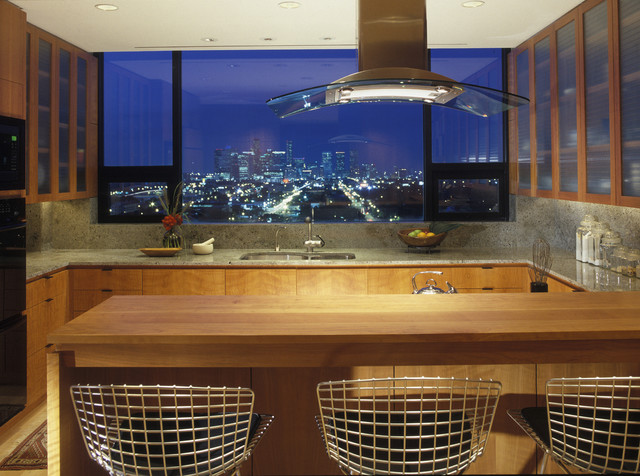 Residential lighting contemporary kitchen houston for Modern residential lighting
