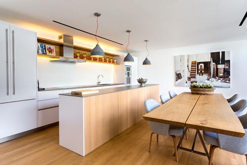 Comer En La Cocina 10 Soluciones Para Crear Una Comoda Zona De Office