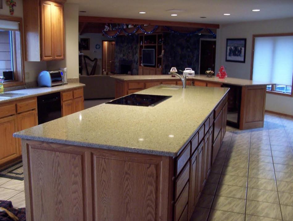 Residential  Quartz Kitchen Renovation