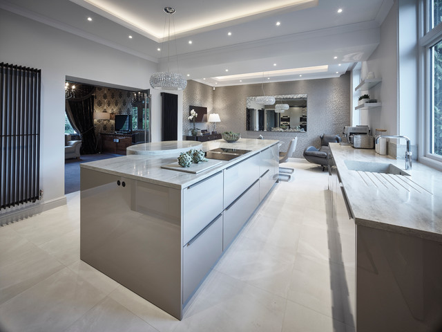Residential Roundhay Leeds Contemporary Kitchen Other By Grid Thirteen Luxury Kitchens