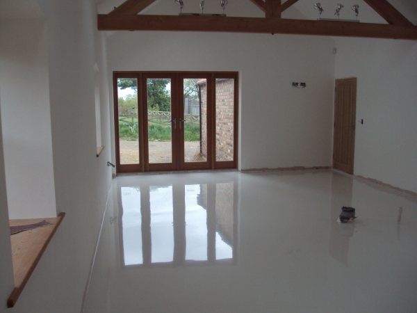 Resin Flooring South East England Contemporary Kitchen