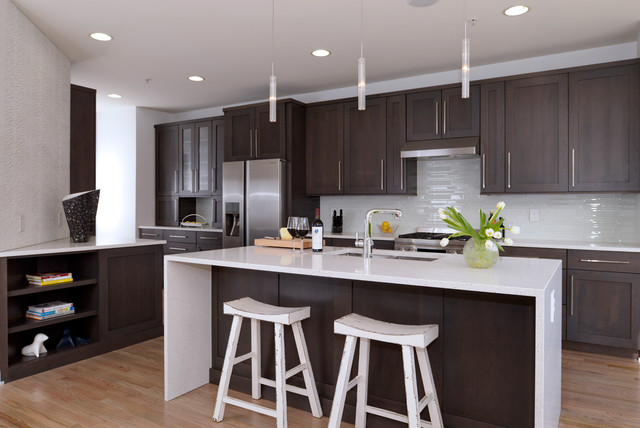 Reston Town Center Town House Kitchen Remodel Contemporary Contemporary Kitchen Dc Metro