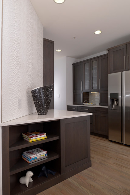 reston townhouse kitchen remodel contemporary