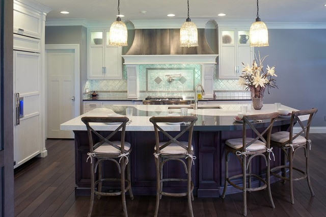 Restoration Hardware Style Home - Transitional - Kitchen - cleveland ...