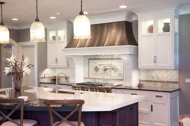 Restoration Hardware Style Home - Transitional - Kitchen - cleveland - by Mullet Cabinet