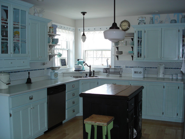 Restyled Home eclectic-kitchen
