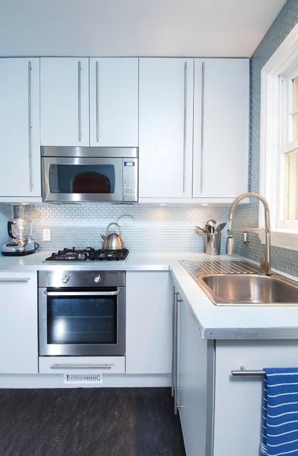 Retro and Radical contemporary-kitchen