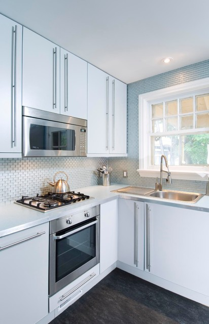 Retro and Radical - Contemporary - Kitchen - Ottawa - by Design First Interiors