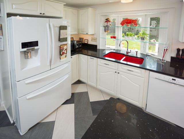 Retro Chic Kitchen Traditional Kitchen Providence By RI Kitchen