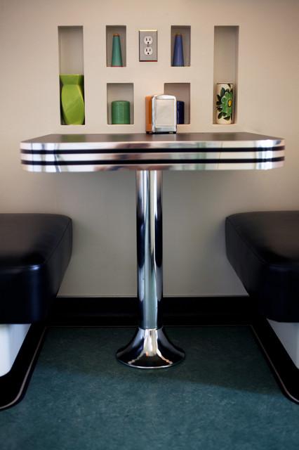 Superieur Retro Diner Booth Midcentury Kitchen