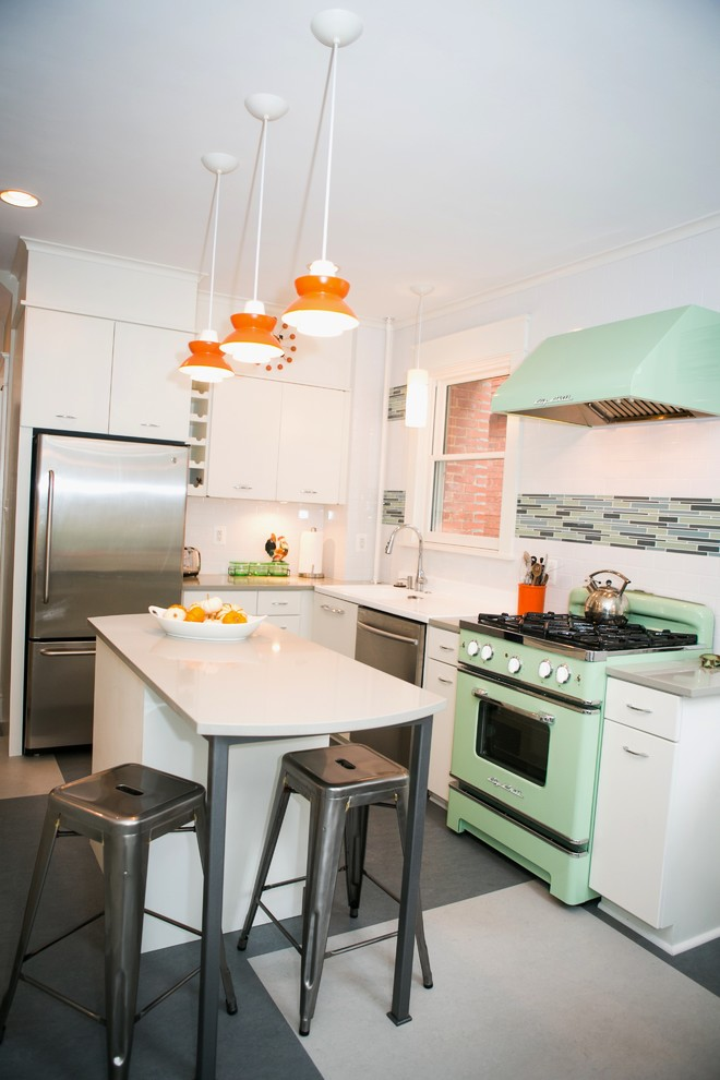 Inspiration for an eclectic kitchen remodel in DC Metro
