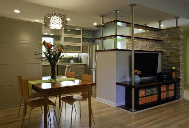 Retro kitchen in San Antonio modern-kitchen